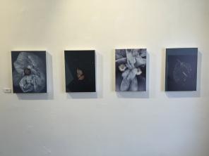 Algunas de las obras creadas en diferentes épocas de la artista.