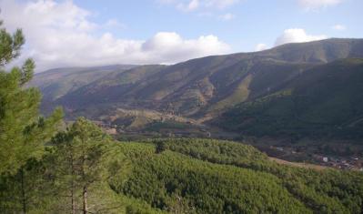 Sierra de Gata, Cáceres.