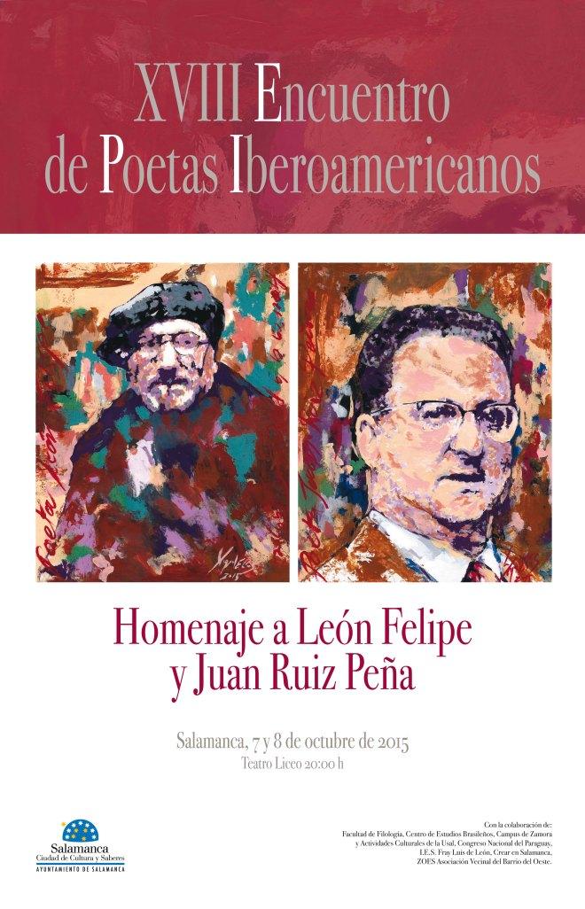 Encuentro de Poetas que reconocen a León Felipe