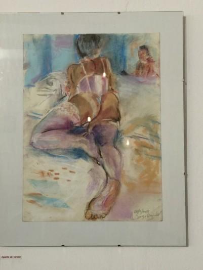 Pinturas de Jorge Orejudo en La Salchichería