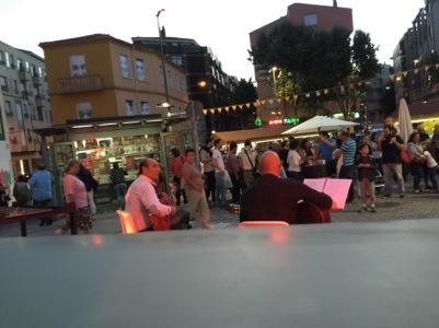 Planeta Rumba en la Feria de Día