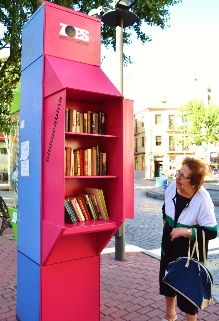 Mira la bibliocabina