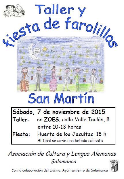 Taller Farolillos de San Martín