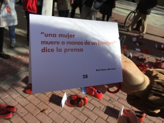 Haikus contra la violencia de género