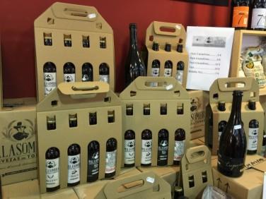 Packs de cerveza Malasombra