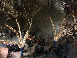 Inauguración de la Navidad en la Plaza del Oeste