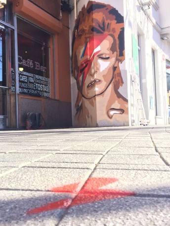 El rincón de Bowie finalizado