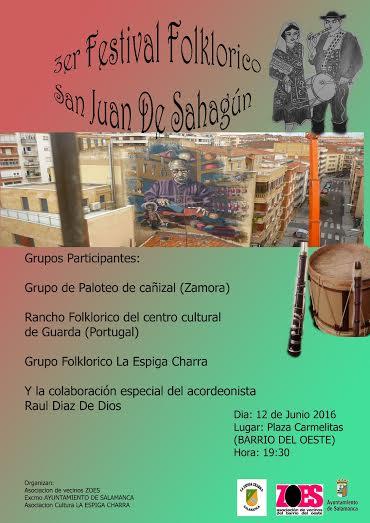 cartel festival folclórico 2016