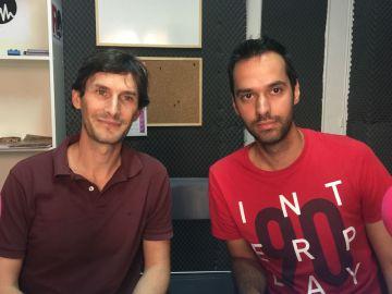 Román Andrés y Roberto Lahera