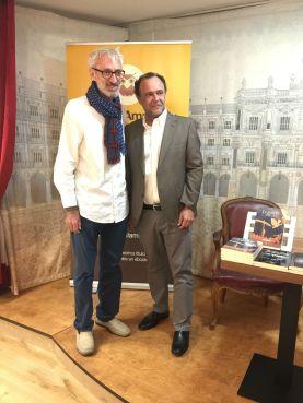 Vicente Rodriguez Manchado e Iván Robledo