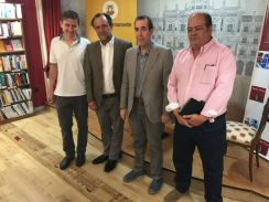 Carlos Cabrerizo, Iván Robledo, Carlos de Tomás y Amable Benito